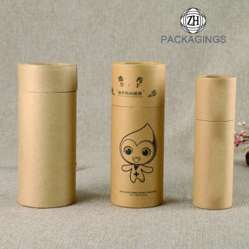 Recyclable brown  kraft paper mailing packaging