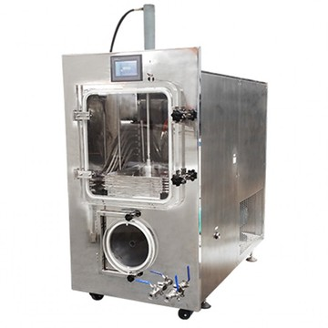 Silicon heating top press food freeze dryer lyophilizer