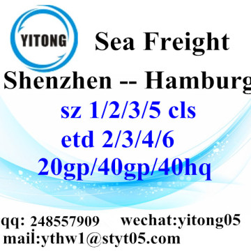 Shenzhen Shipping Services to Hamburg