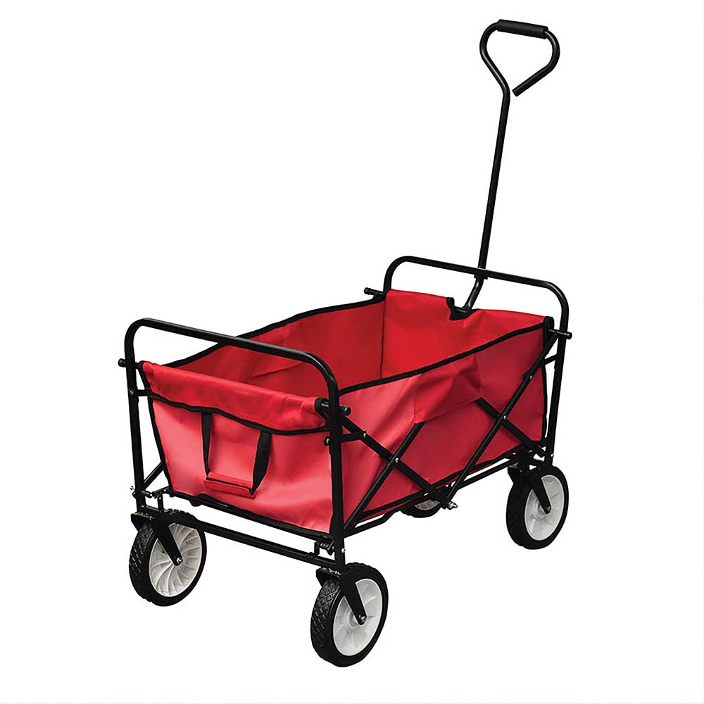 Wheeled Trolley With Pull Handle