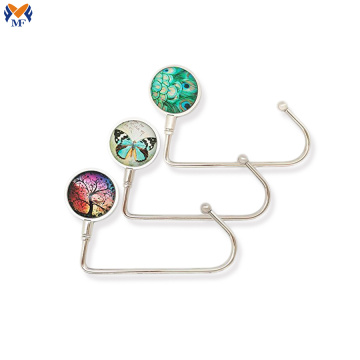 Metal custom bag magnet hanger for promotional