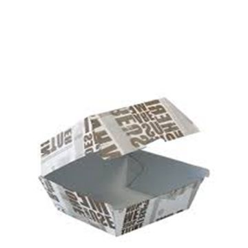 Wholesale price burger fast food paper box