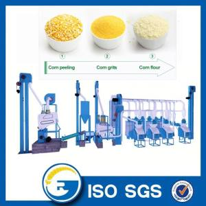 20 Tons maize milling machine