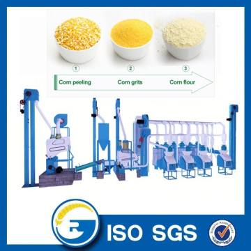 20 TPD maize flour mill machine
