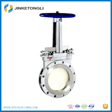 Cast Iron knife gate valve for water treatment