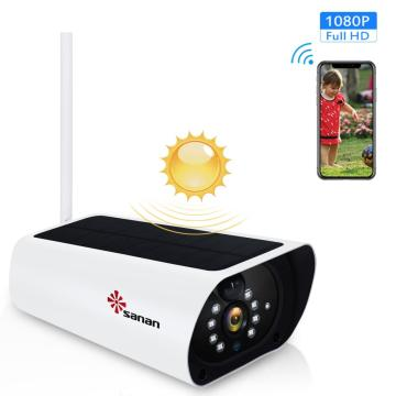 1080P solar wifi security camera system