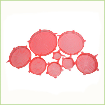 Flexible Keep Fresh  Silicone Lids Set