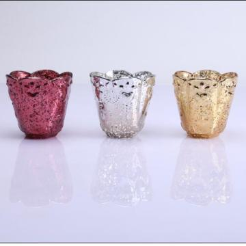 Factory directly provide for Best Tea Light, Glass Candle Holder, Tea Light Holder, Votive Holder, Tea Light Candle Holder Manufacturer in China Heart Shaped Colored Luxury Candle Container supply to Italy Manufacturer