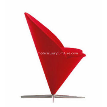 Good Quality for Modern Fabric Lounge Chair replica verner panton cone chair supply to Russian Federation Manufacturer