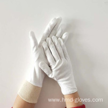 Nuclear Plant Industrial White Cotton Gloves