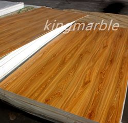 1-9mm pvc wooden table top sheet for interior