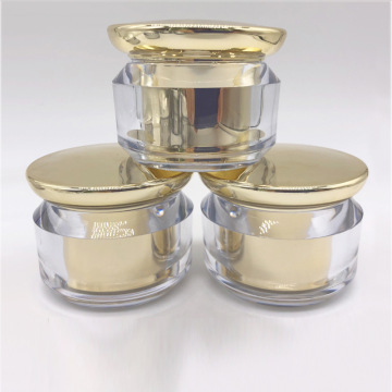 Double-layer Mushroom acrylic cosmetic Mirror Bottles