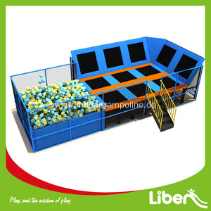 China New Product for Indoor Trampoline Equipment Large Indoor Commercial Trampoline for Sale export to Belize Manufacturer