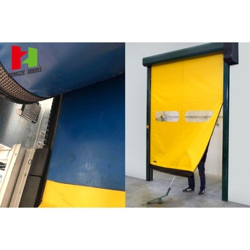 Energy Saving Auto Recovery Low Maintenance Door