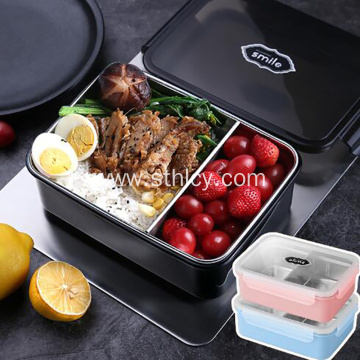 304 Stainless Steel Covered Lunch Box