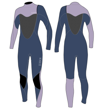 Seaskin Thermal Protection Zipper Free Women's Wetsuit