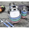 Stainless Steel Children's Dinner Set