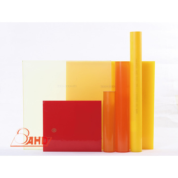 Nature Color Hardness 90 A PU Polyurethane Rod