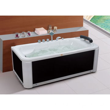 Customized Color Massage Freestanding Bathtub