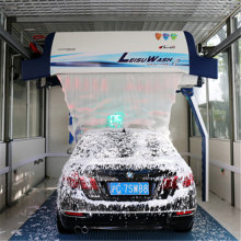 Automatic laser touchless car wash machine