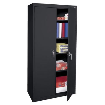 Office furniture swing glass door fling cabinet