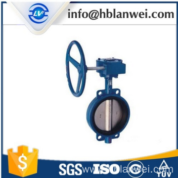 Best Price for for Cast Iron Butterfly Valve wafer turbine butterfly valve manually export to Russian Federation Factories