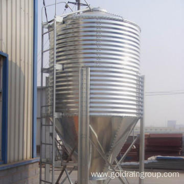 Spiral Chicken Feed Silo
