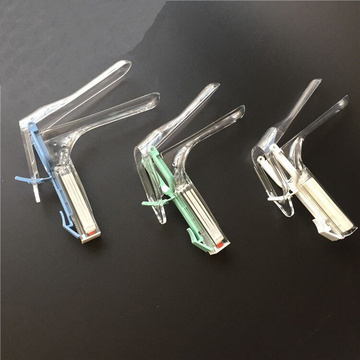 Medical Disposable Vaginal Speculum Plastic With Light