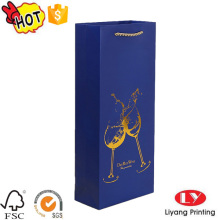 Printed wine bottle paper corrugated box