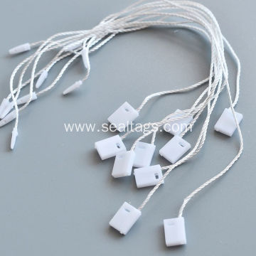 White small string  jewelry tags and labels