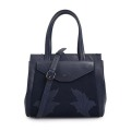 Cow Leather Handbag Ladies Newest Embroidered Tote Bags