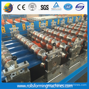 Guide pillar roof tile roll forming machine