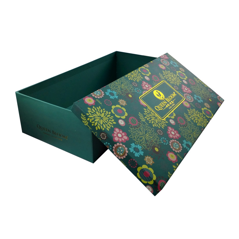 High-end Gold Stamping Rigid Carboard Paper Wine Box