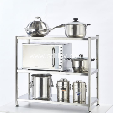 Stainless Steel Kitchen Shelf For Microwave Shelf