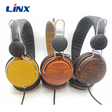 Best Selling Good Sound Quality OEM Wood Headphones