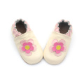 Flower Soft Leather Shoes Baby Girls Boys Shoes