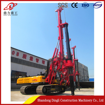 Low-price and high quality crawler pile  rig