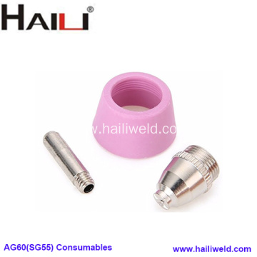 SG-55 AG60 Plasma Cutting Consumables