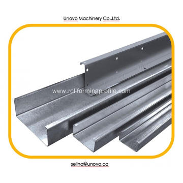 W Shape steel cold formed profile