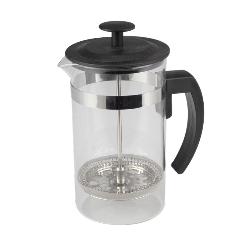 Plastic Lid Of Glass French Press