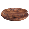 Customrized round wooden plate