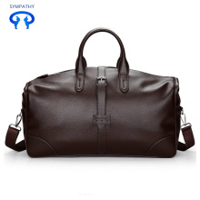 Leisure portable pu travel bag