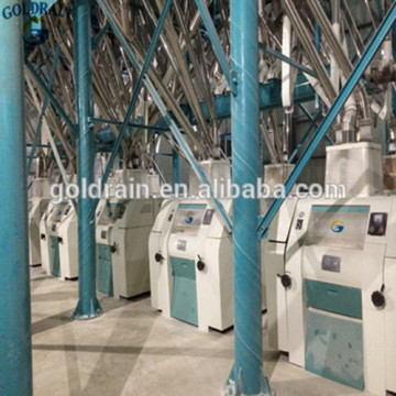 100 ton wheat and flour milling machines
