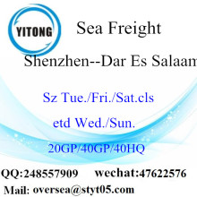 Shenzhen Port Sea Freight Shipping To Dar Es Salaam