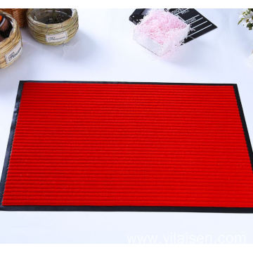 High quality customized striped mat with low price