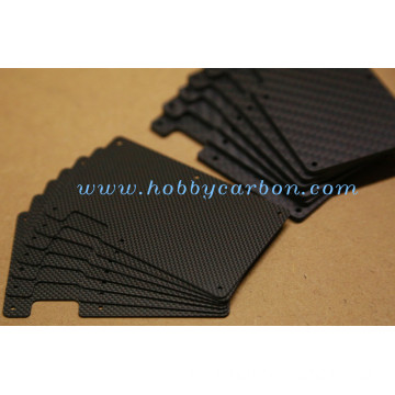I-Carbon Fibre Minimalist Card Holder Wallet Yabesilisa
