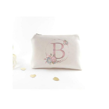 Mini Custom Monogram Cosmetic Bag for Gift