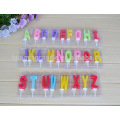 Hot sale Colorful Letter Shape Birthday Cake Candle