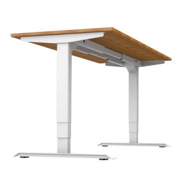 Dual Motors Sit And Stand Desk Electriced Adjustable