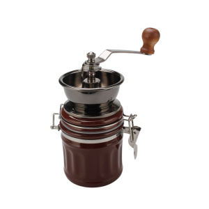 Household Professional Thick Wood Coffee Grinder